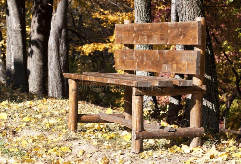 Banco in autunno immagine stock libera da diritti