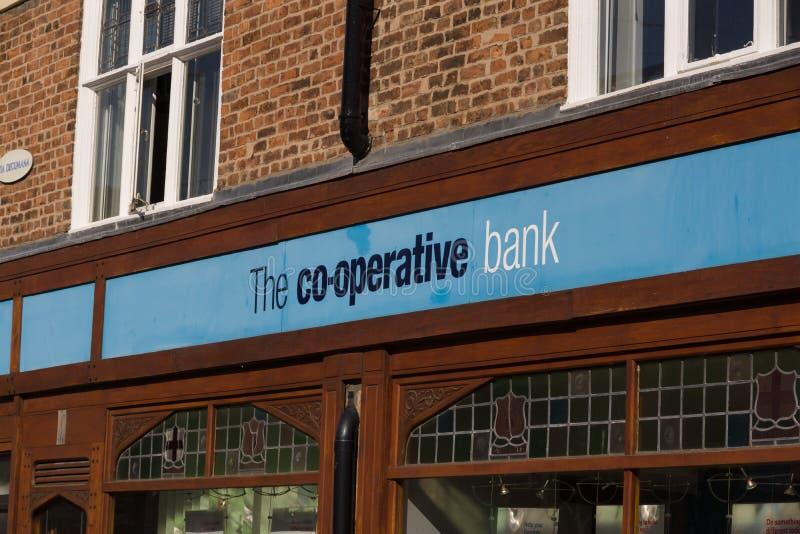 Banco cooperativo foto de archivo