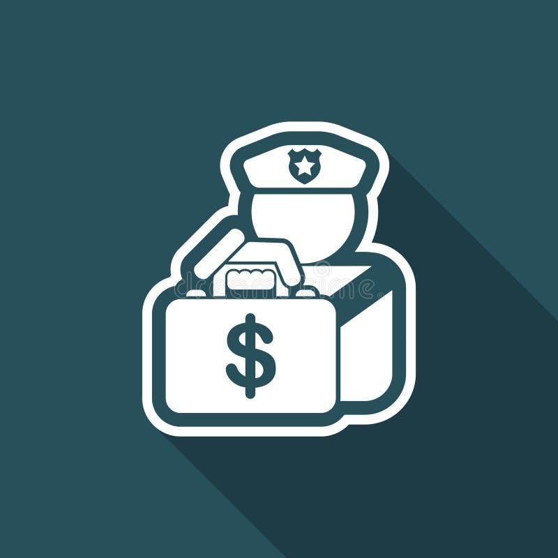 Banco da segurança ilustração do vetor