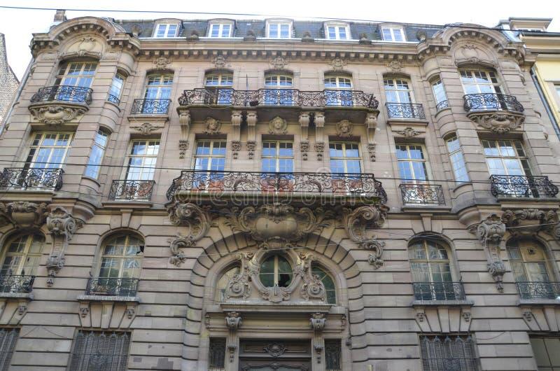 Banco de Ancienne Strassburger fotografía de archivo libre de regalías