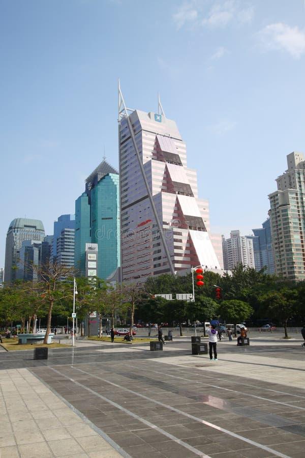 Banco de desarrollo de Shenzhen imagen de archivo