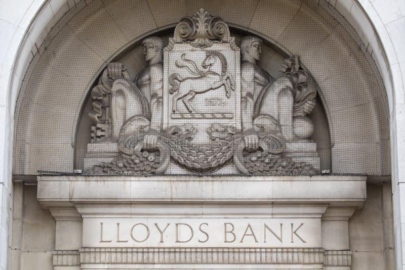 Banco de Lloyds em Coventry fotos de stock