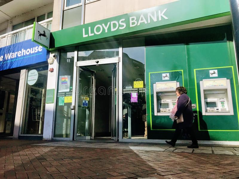 Banco de Lloyds fotos de stock royalty free