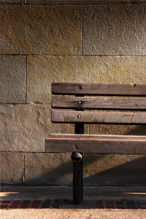 Banco de madeira foto de stock
