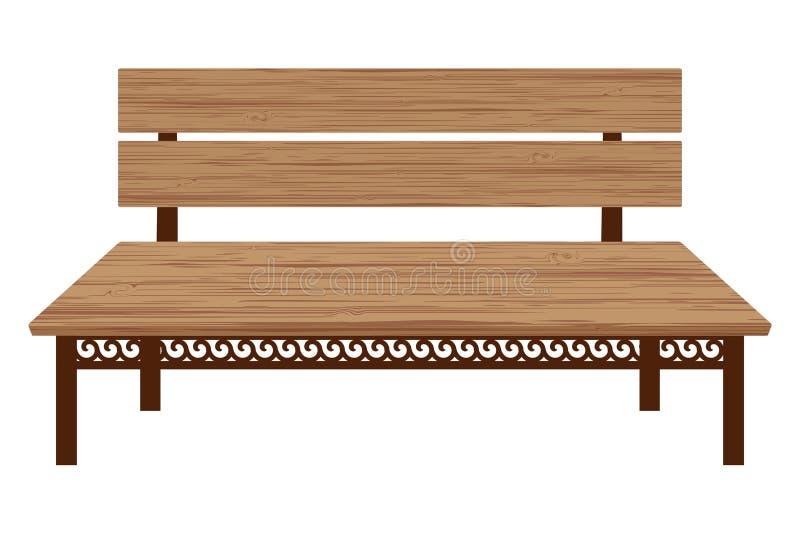 Banco de madera libre illustration