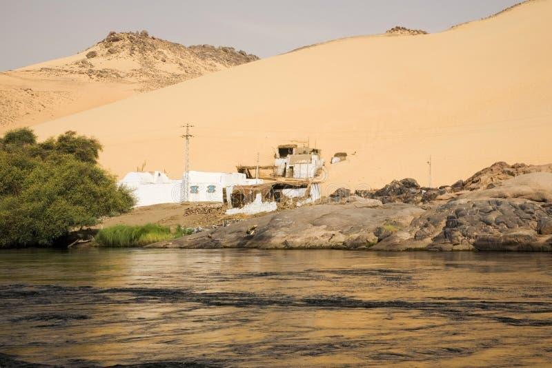 Banco de Nile, Egipto foto de stock royalty free