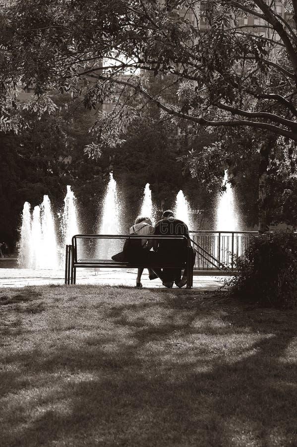 Banco De Parque Imagenes de archivo