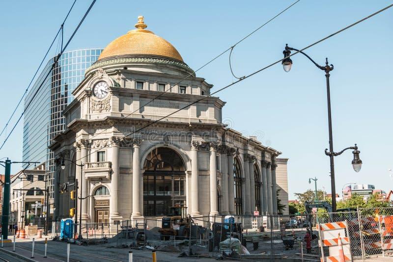 Banco de poupança New York do búfalo fotografia de stock royalty free