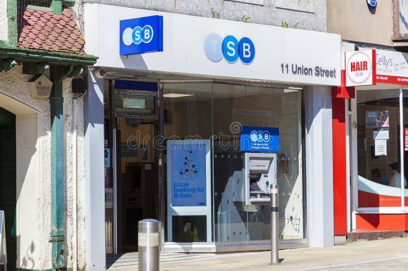 Banco de TSB fotos de archivo