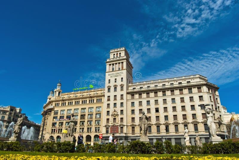 Banco Espanol De Credito. stock photos