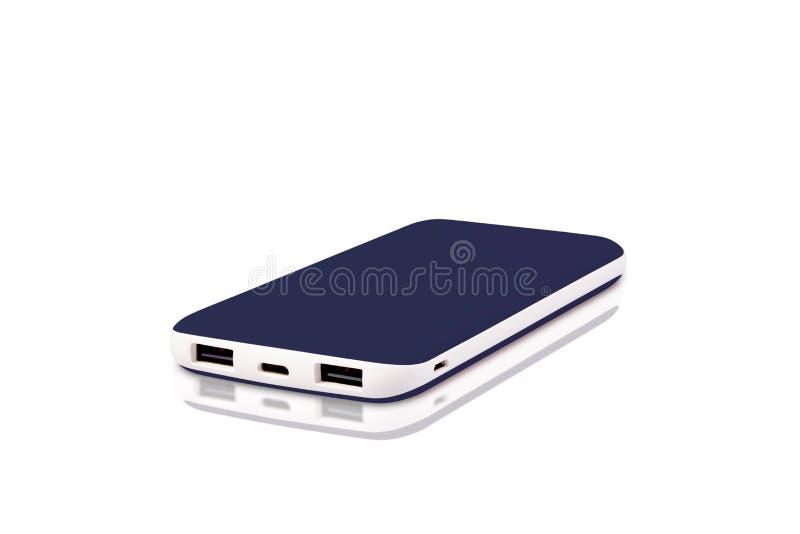 Banco exclusivo do poder de USB fotografia de stock