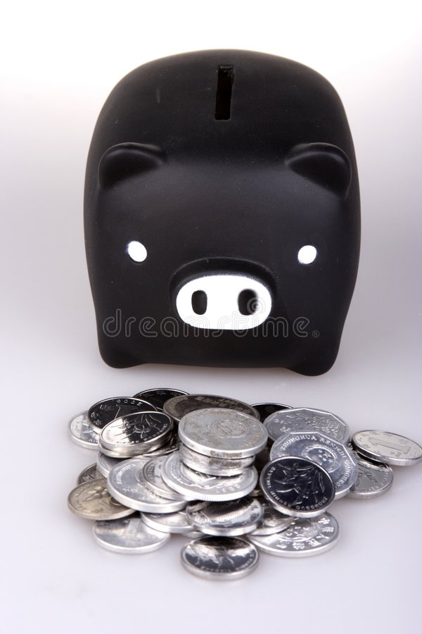 Banco Piggy imagem de stock royalty free