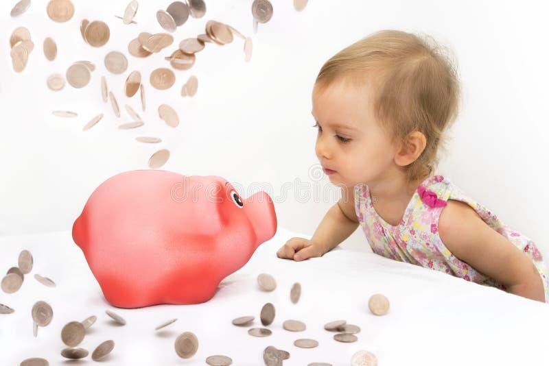 Banco Piggy 2 imagens de stock