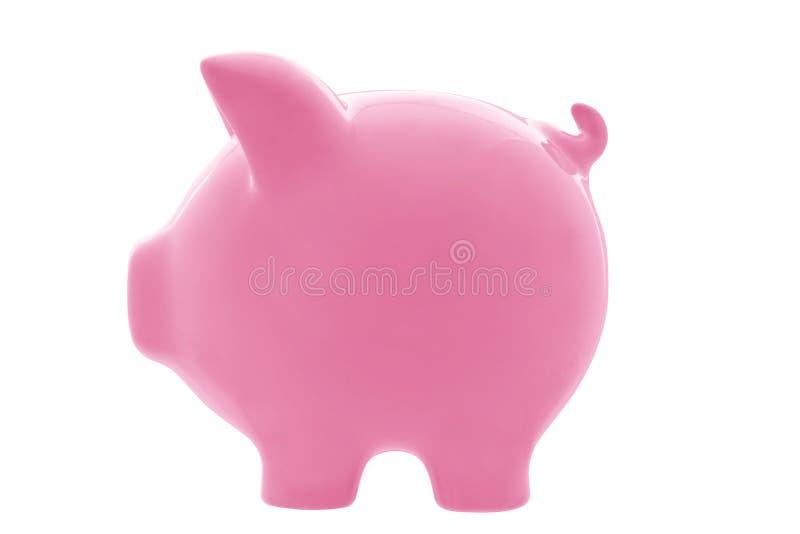 Banco Piggy (com trajeto) imagens de stock royalty free