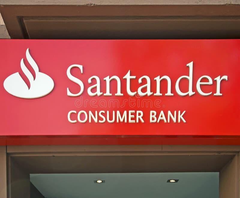 Download Banco Santander editorial image. Image of germany, logo - 21866780