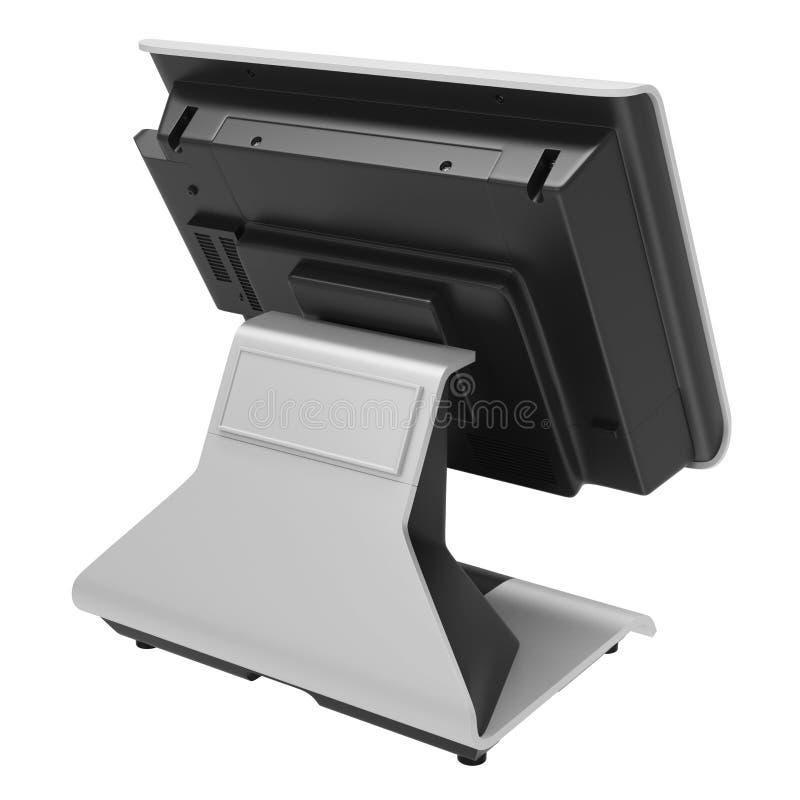 BANCOMAT del monitor di retrovisione immagine stock