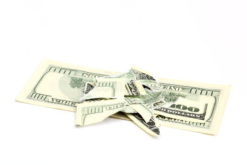Banconota in dollari fotografie stock libere da diritti