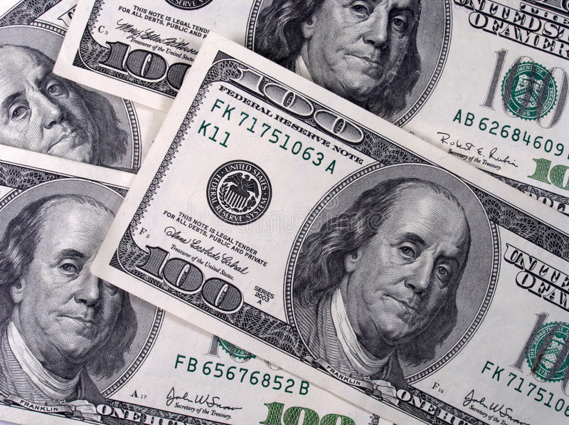 Banconote immagini stock