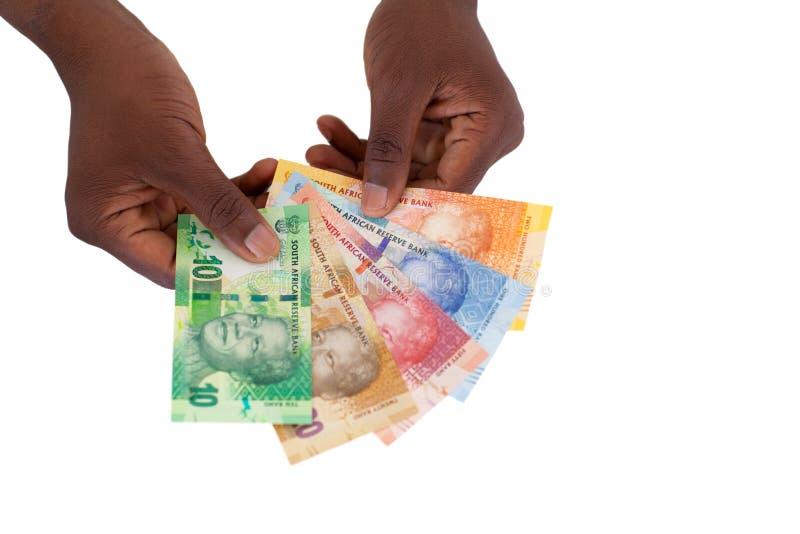 Banconote sudafricane fotografia stock libera da diritti