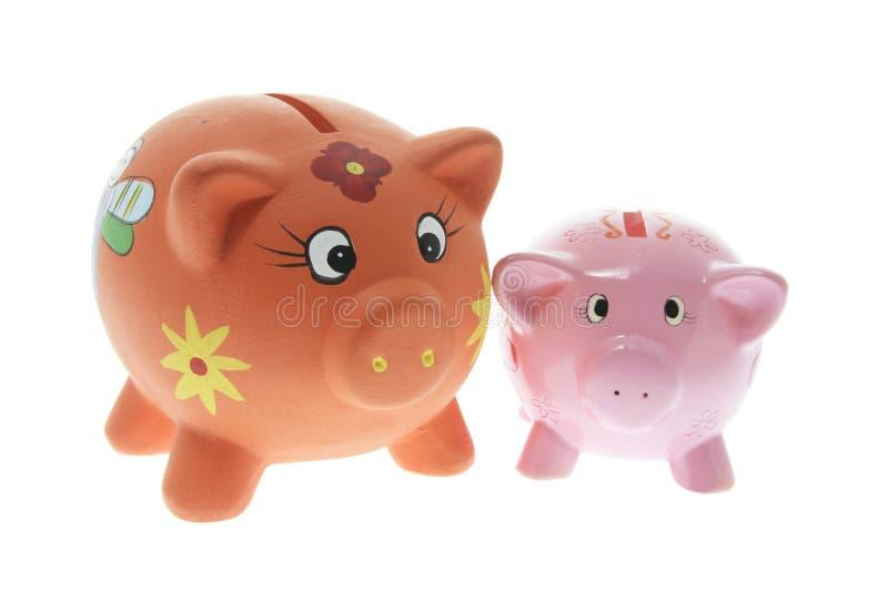 Bancos Piggy imagens de stock royalty free