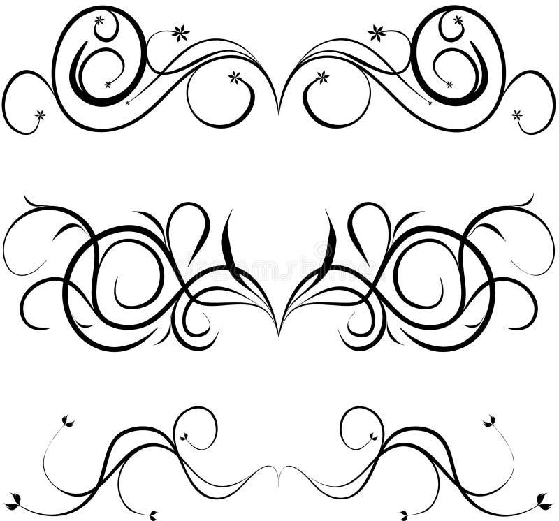 band royaltyfri illustrationer