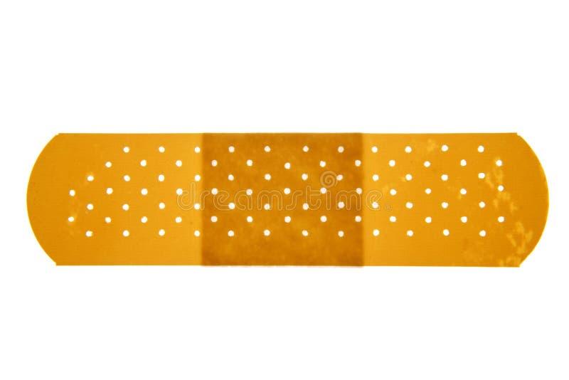 Band-aid. Isolated on white background stock images