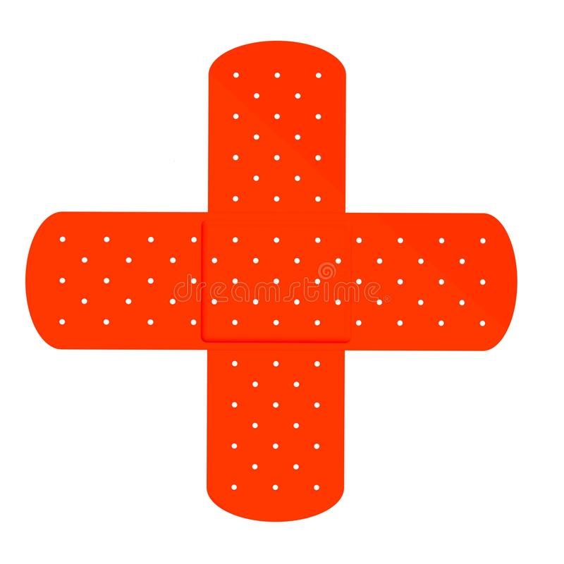 Download Band aid cross editorial image. Image of band, cross - 14860635