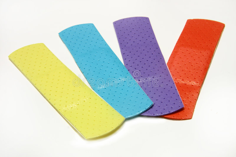 Download Band Aids stock photo. Image of clinic, pain, texture, yellow - 524510