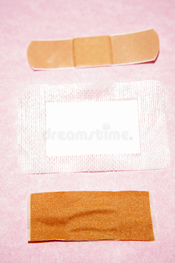 Band-aids and dressing