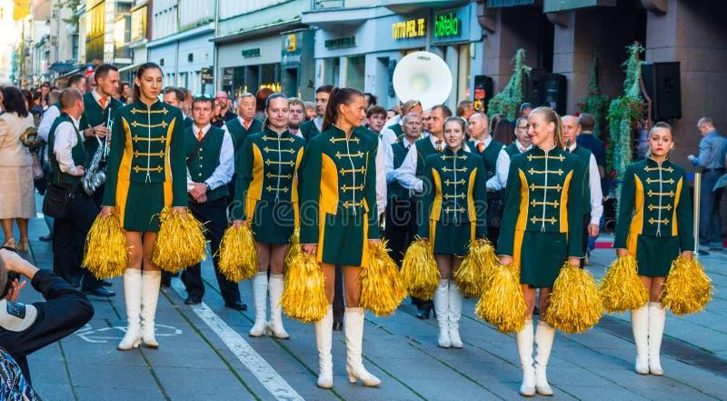 Band, Celebration, Costumes royalty free stock photography