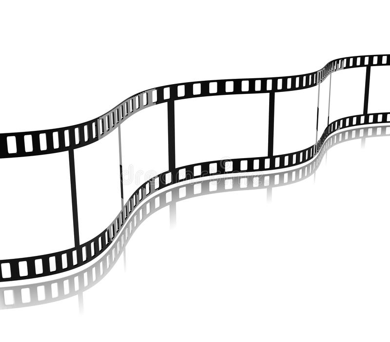 Band för filmfilm royaltyfri illustrationer