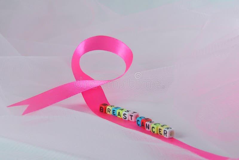 Band för månadbröstcancermedvetenhet i Oktober royaltyfri foto