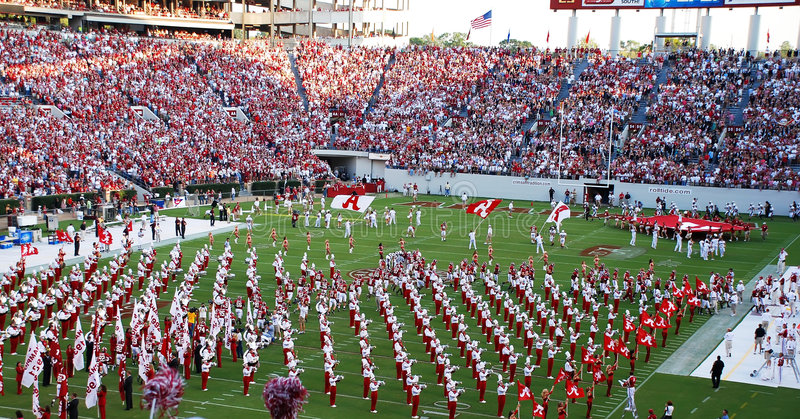 Download Band on the field editorial photography. Image of stadium - 5449132