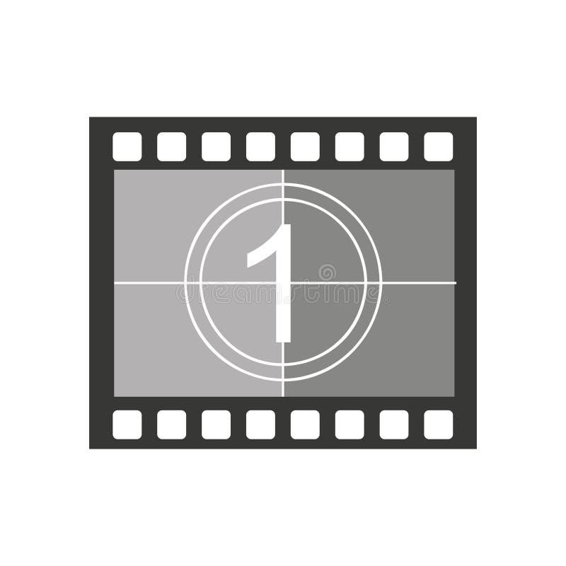 band fotografisch broodje geïsoleerd pictogram stock illustratie