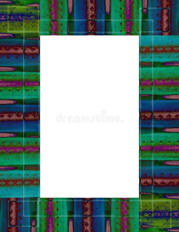 Band-geverft Frame royalty-vrije illustratie