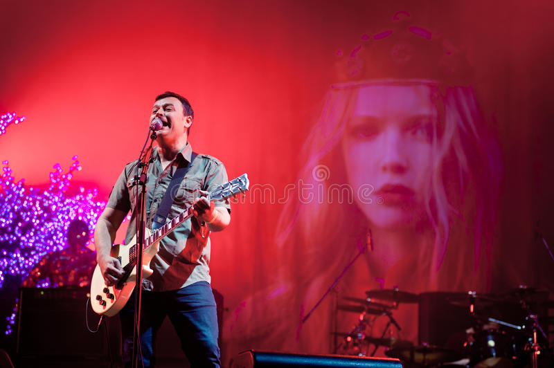 Download Band Manic Street Preachers Plays At The Festival Editorial Photo - Image: 29482286