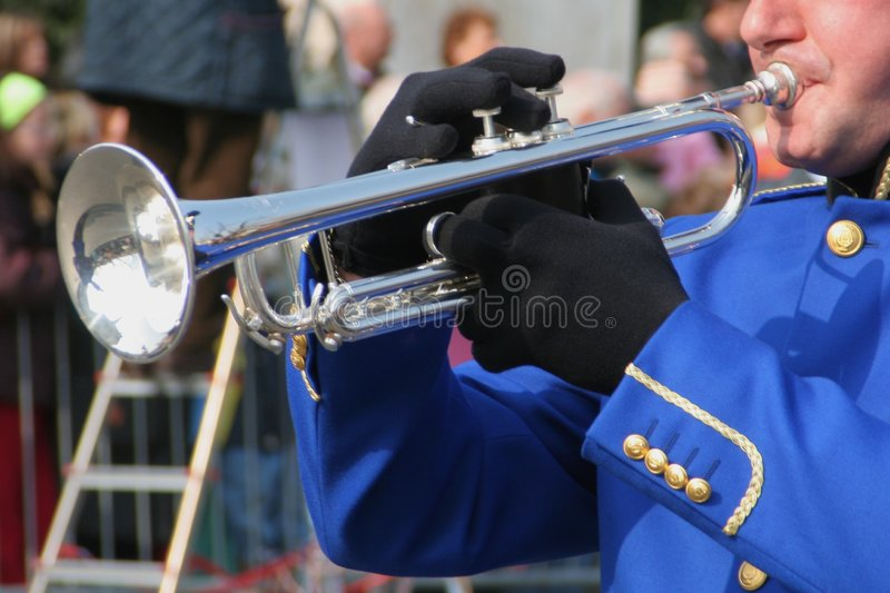 Band Musical Instruments. Musical Instruments stock photo