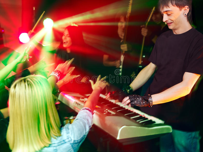 Download Band Playing Musical  Instrument. Stock Photo - Image: 30465432