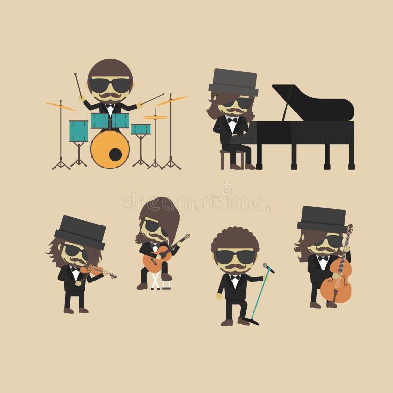 Band royalty free illustration