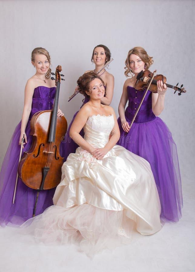 Band voor huwelijk royalty-vrije stock foto