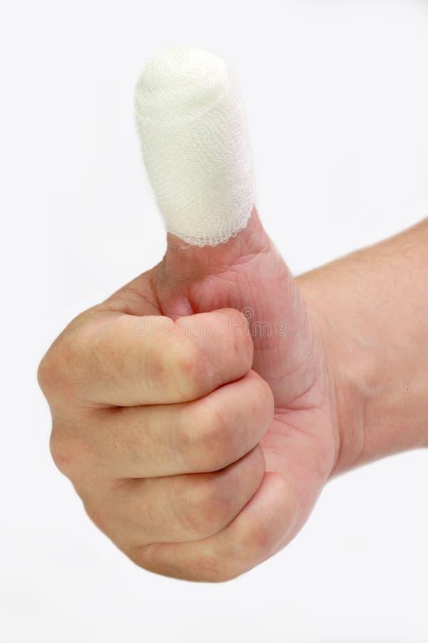 bandażujący zdjęcie stock