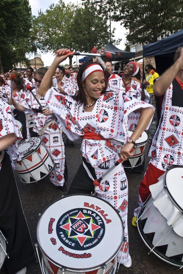 banda Batala De Dobosz percussao zdjęcie royalty free