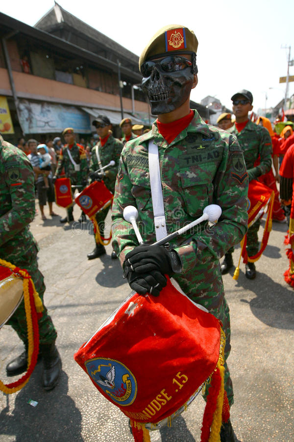 Banda del ejército fotografía de archivo libre de regalías