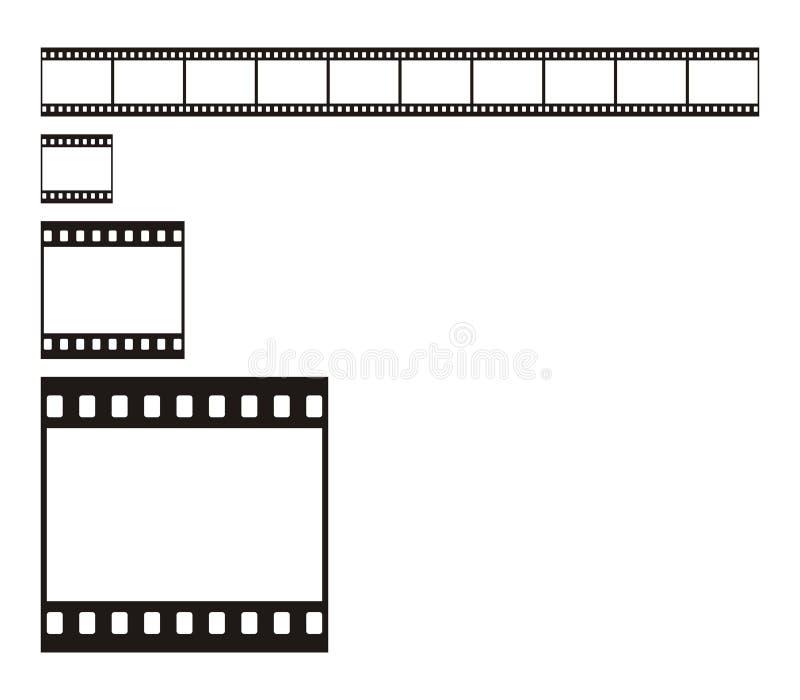 banda della pellicola da 35 millimetri illustrazione vettoriale