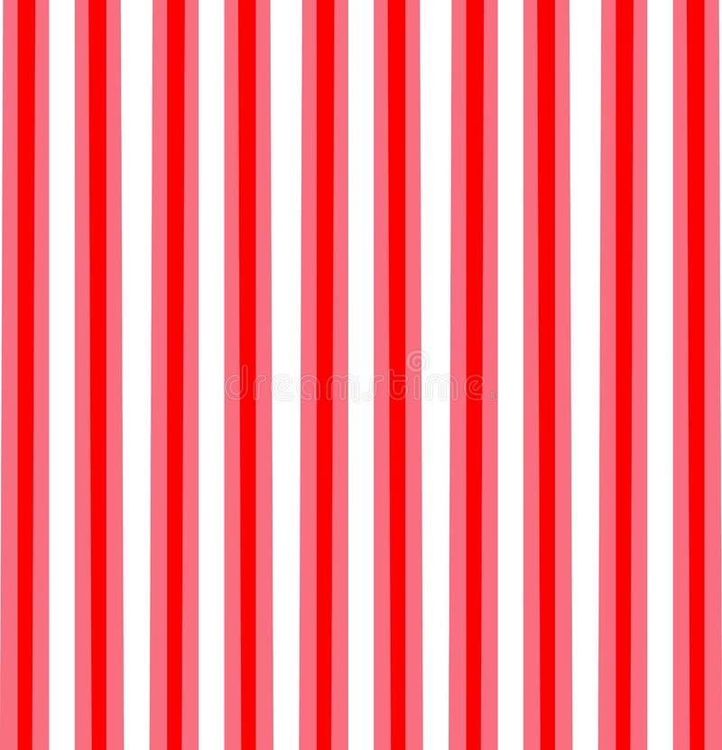 Banda diagonale rossa, rosa, bianca Reticolo senza giunte ENV 10 Illustrazione di vettore illustrazione di stock