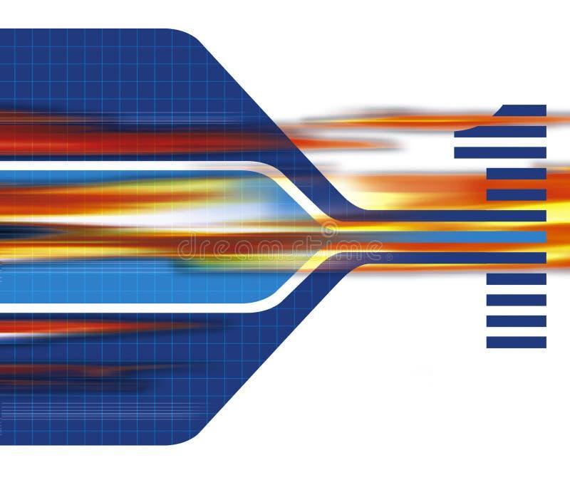 A banda larga illustrazione di stock