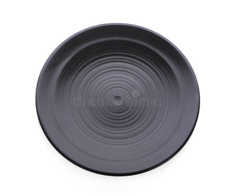 Banda nera isolata su fondo bianco fotografia stock