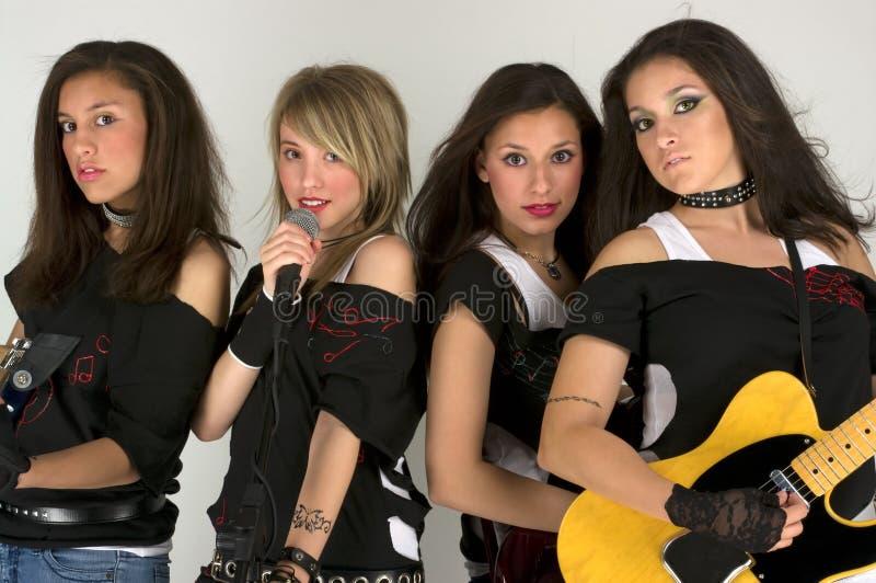 Banda rock fotografia stock
