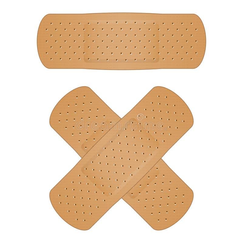 Bandage illustration stock
