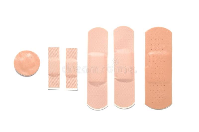 Bandage adhésif images stock